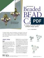 Beaded Bead Caps