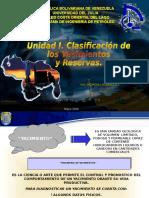 Unidad II.clasificacion de Yac y Reservas 2008