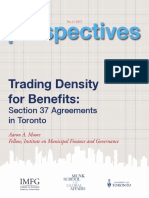 Trading Density for Benefits