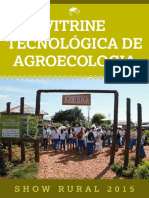 Cartilha Vitrine Tecnologica de Agroecologia 2015