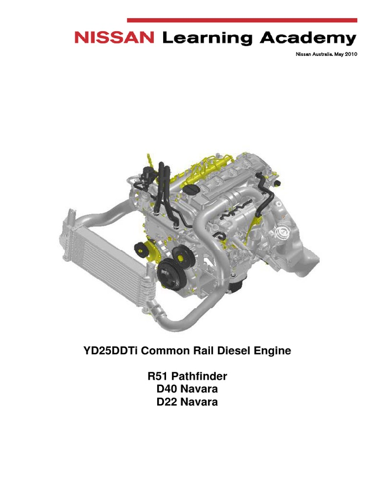 YD25 CR fault diagnosis pdf | Fuel Injection | Diesel Engine