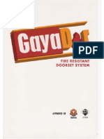 GAYA Fire Door Spec