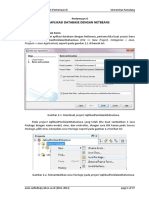 Aplikasi Database Dengan Netbeans
