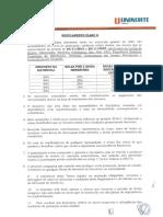 Regulamento Plano D 2016.1 uninorte