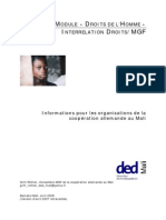 fr DED MGF Module Droits