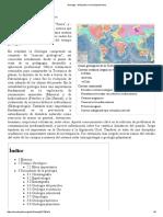 Geología - Wikipedia, La Enciclopedia Libre