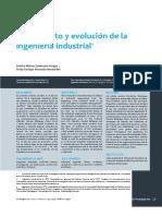Surgimiento y evolución de la ingeniería industrial1