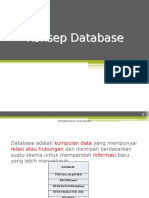 Konsep Database