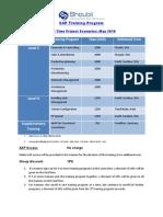 SAP Training Programs @ Shoubii_May 2010