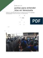 6 Preguntas Para Entender Venezuela