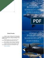 Buku Pengenalan Mamalia Laut