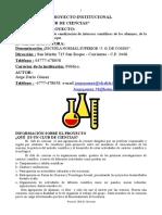 Proyecto Club de Ciencias