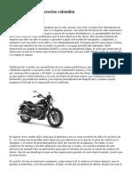 motos para mujer precios colombia