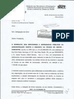 Ofício Ministério do Trabalho