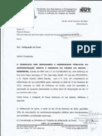 Ofício Secretária de Administração - PCR