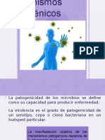 MECANISMOS PATOGENOS
