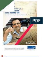 Bharti Axa Easy Health Brochure
