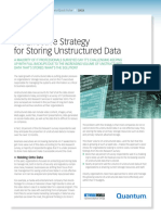 An Effective Strategy for Storing Unstructured Data