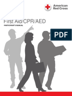 ARC CPR/AED Health Emergencies and First Aid Handbook