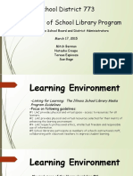 assessment of library program