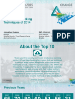 Ht f01 Top 10 Web Hacking Techniques of 2014 Final