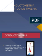 Conductometria y Apertura