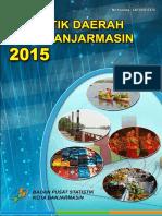 Statistik Daerah Kota Banjarmasin 2015