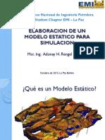 Congreso Emi Spe 2015 Elaboracion de Un Modelo Estatico. Msc. Adonay Rengel