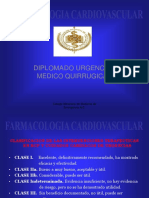 Farmacología Cardiovascular.