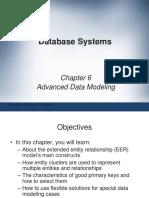 Chapter 6 - Advanced Data Modellng