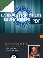 Expulsión de Los Jesuitas de México