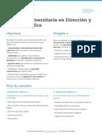 Direccion Gerencia