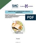 Normativo y Programa Prac.-2014
