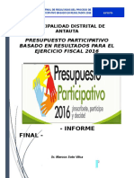 Informe Final Antauta