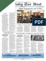 The Daily Tar Heel for Feb. 26, 2016