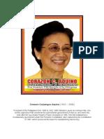 Corazon Cojuangco Aquino