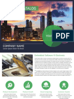 Business Catalog Brouchure