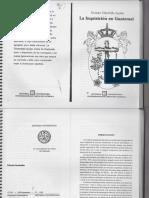 La Inquisición en Guatemala