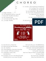 Blind Barber TrackList