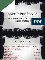AAFRO Powerpoint