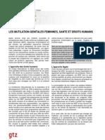 fr GTZ MGF sante et droits humains