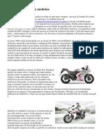 motos para mujeres modelos