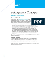 Chapter 4 Management Concepts