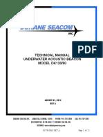 Manual Re-change Battery SVDR Beacon