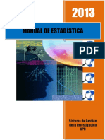 2013 Manual de Estadística