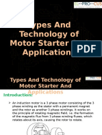 Motor Starter Types and Technology And Its Applications