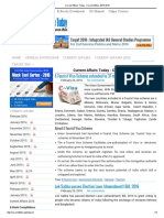 Current Affairs Today - Current Affairs 2015-2016