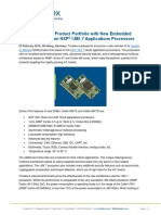 Toradex Expands Product Portfolio with New Embedded Computer Based on NXP® I.MX 7 Applications Processors