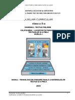 TEXTILE PIELARIE X TEHNOLOGII DE FINISARE FINALA A MATERIALE.doc