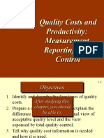 TOPIC 4 - Quality Costs & Productivity Latest 2